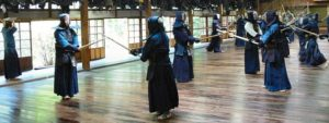 剣道の稽古様子①